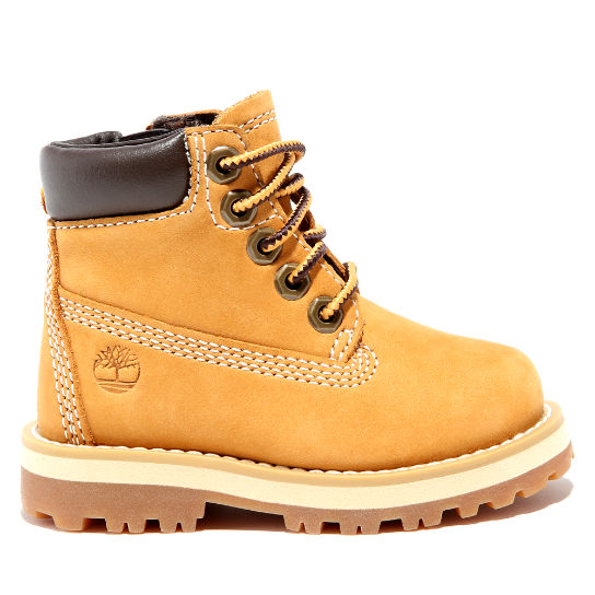 Courma Kid 6 Inch Boot for Toddler in Yellow | Timberland