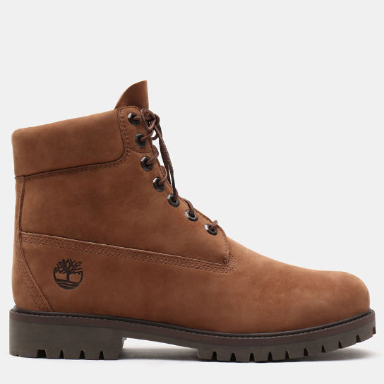 Premium 6 Inch Heritage Boot for Men in Brown | Timberland