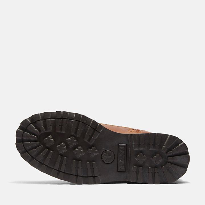 Botas 6 Inch con Cremallera Lateral Courma Kid para Niño (de 35,5 a 40) en marrón-