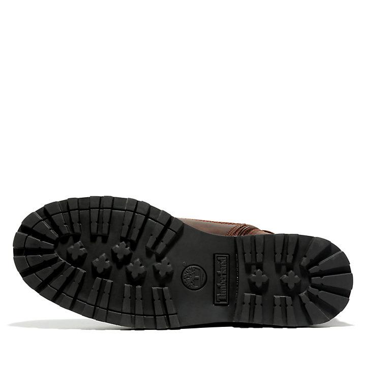 Courma Kid 6 Inch Side-zip Boot for Junior in Dark Brown-