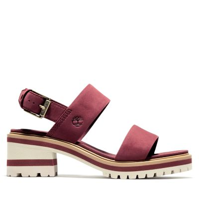 Violet+Marsh+Sandal+for+Women+in+Burgundy