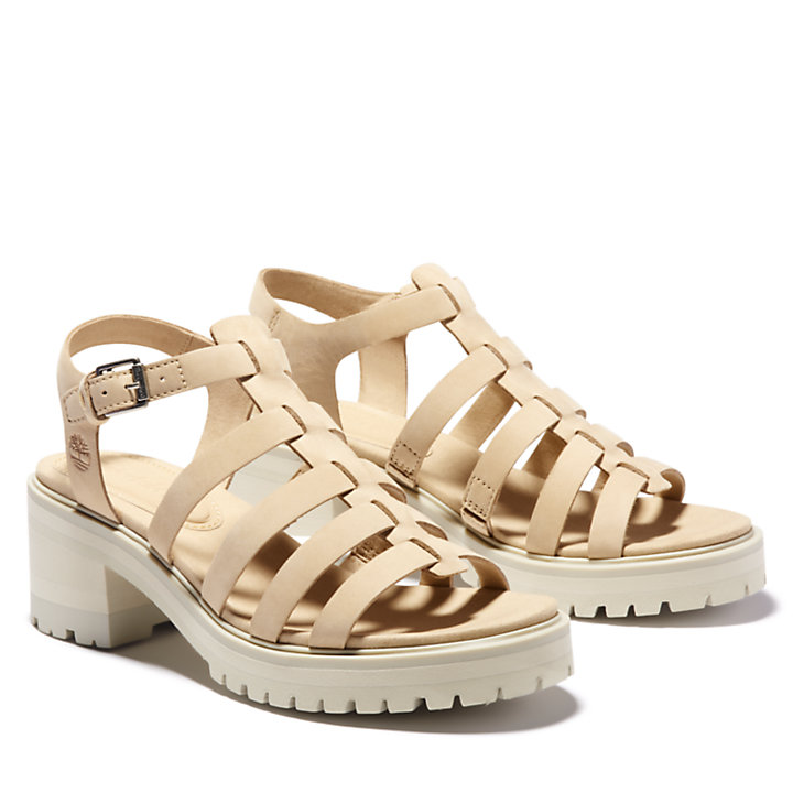 Violet Marsh Fisherman Sandal for Women in Beige-