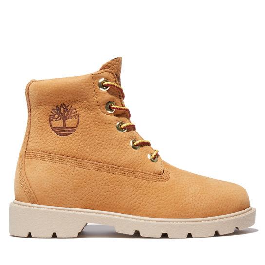 Timberland® Classic 6 Inch Boot for Junior in Yellow | Timberland