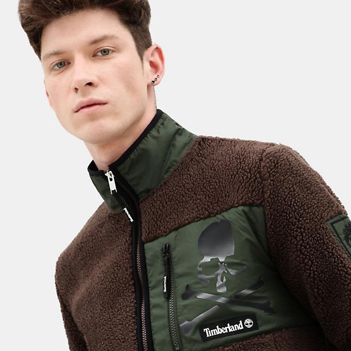 Timberland® x mastermind Fleecejacke für Herren in Braun-