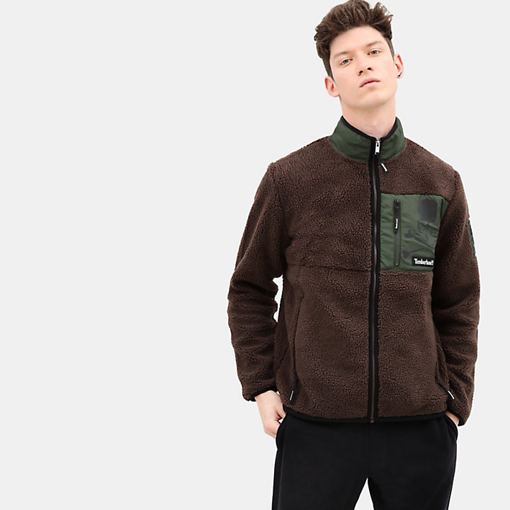 Timberland® x mastermind Fleece Jacket for Men in Brown-