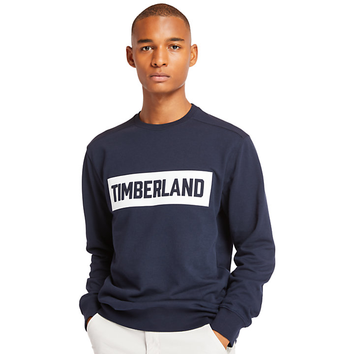 Shedd Brook Sweatshirt for Men in Navy-