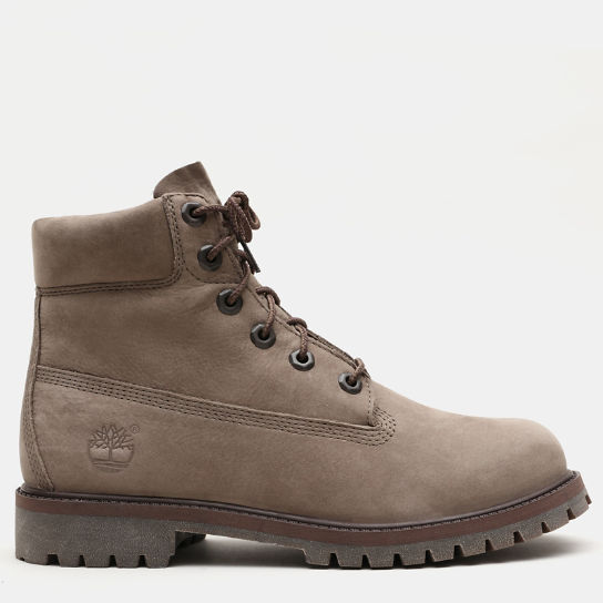 Premium 6 Inch Boot for Junior in Greige | Timberland