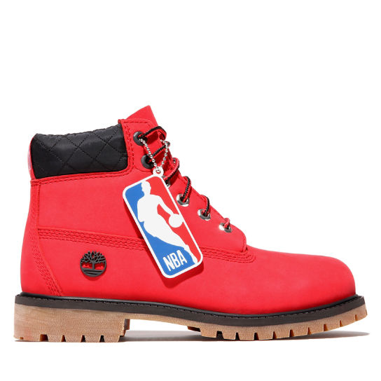 6 Inch Premium Boot for Junior in Red | Timberland