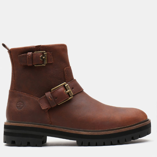 London Square Biker Boot for Women in Brown | Timberland