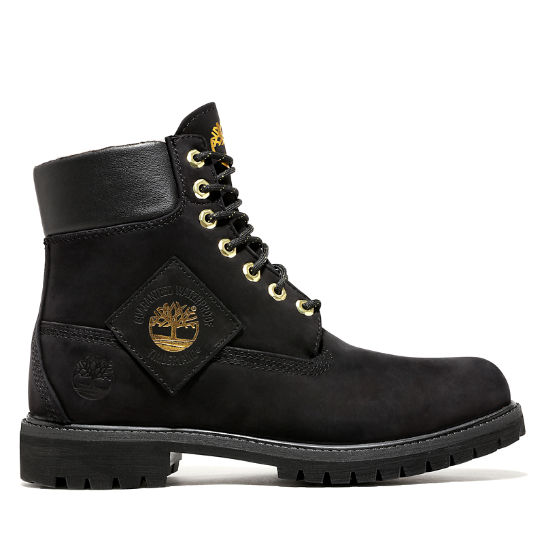 Premium Shearling 6 Inch Boot for Men in Black | Timberland