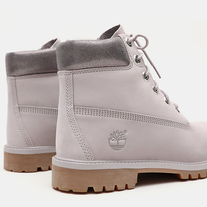 Premium-6-Inch-Stiefel für Kinder in Grau-