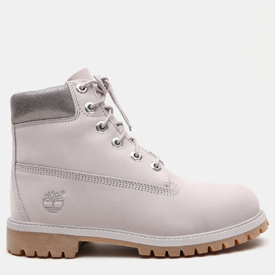 Premium 6 Inch Boot for Junior in Grey | Timberland