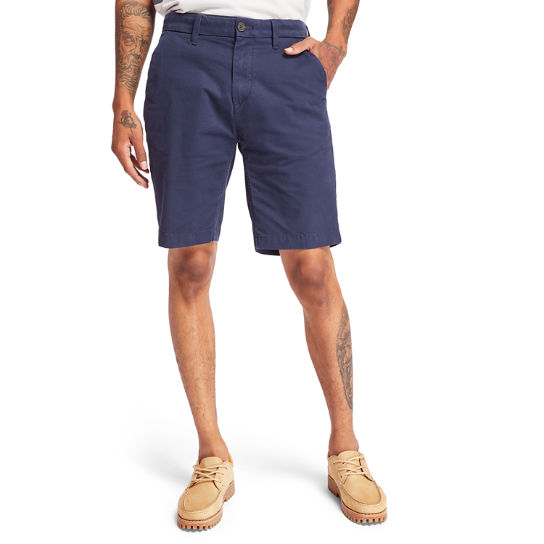 Squam Lake Stretch Chinoshort voor Heren in marineblauw | Timberland
