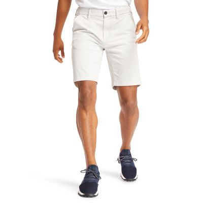 Squam+Lake+Stretch-Chinoshorts+f%C3%BCr+Herren+in+Grau