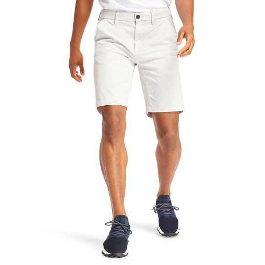 Short chino stretch Squam Lake pour homme en gris | Timberland