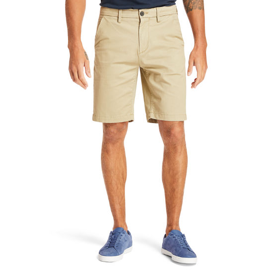 Short chino stretch Squam Lake pour homme en beige | Timberland