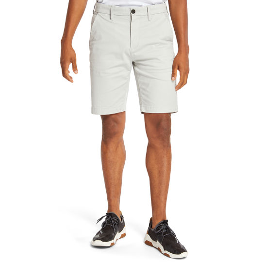 Squam Lake Stretch-Chinoshorts für Herren in Hellgrau | Timberland