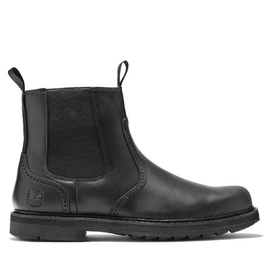 Squall Canyon Chelsea Boot for Men in Black | Timberland