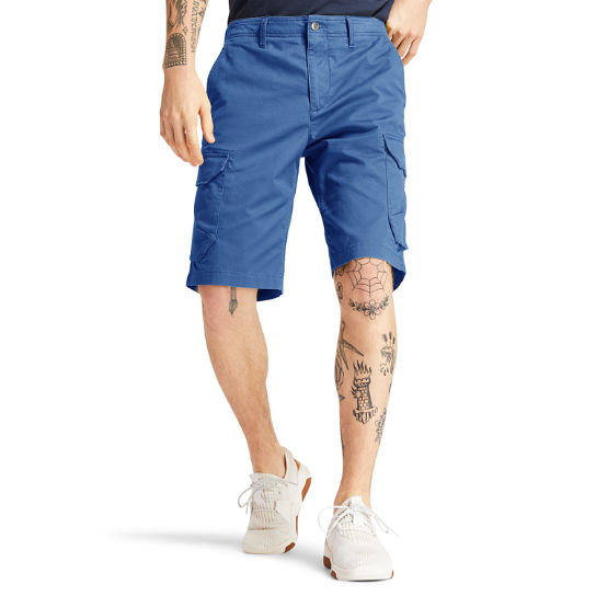 Tarleton Lake Cargo Shorts for Men in Blue | Timberland