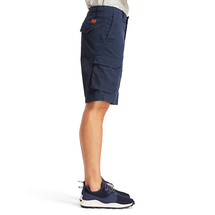 Tarleton Lake Cargo Shorts for Men in Navy-