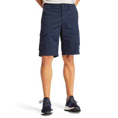 Tarleton+Lake+Cargoshort+voor+Heren+in+marineblauw