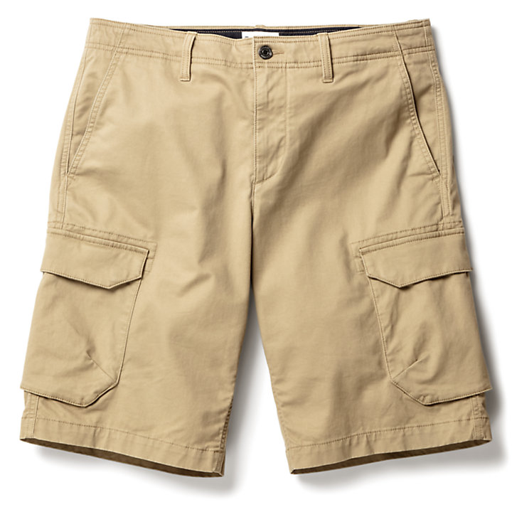 Tarleton Lake Cargoshort voor Heren in kaki-