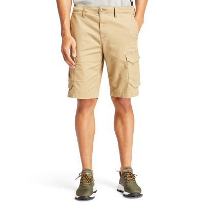 Tarleton+Lake+Cargoshort+voor+Heren+in+kaki