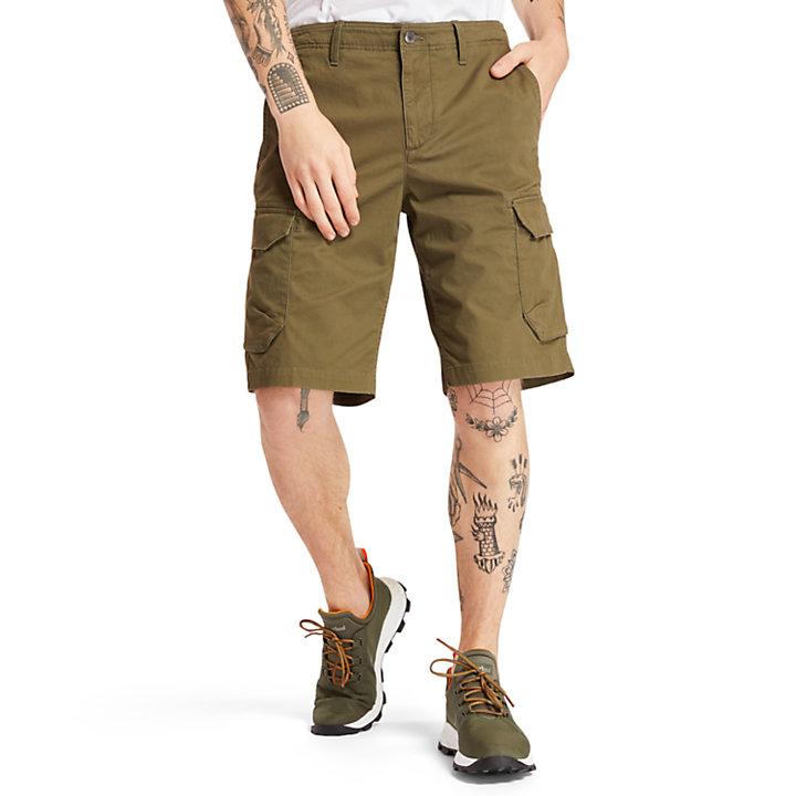 Tarleton Lake Cargo Shorts for Men in Green-