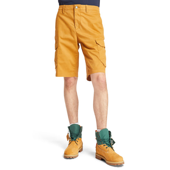 Tarleton Lake Cargo Shorts for Men in Yellow | Timberland