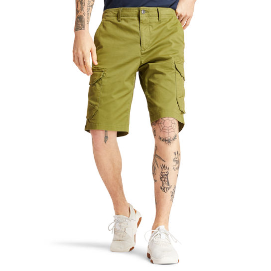 Tarleton Lake Cargo Shorts for Men in Dark Green | Timberland
