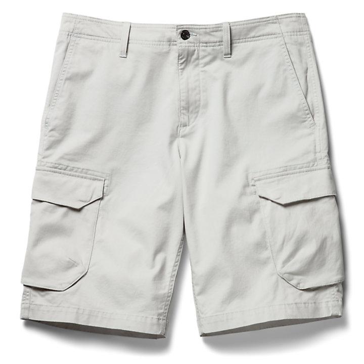 Pantalón Corto Cargo Tarleton Lake para Hombre en gris claro-