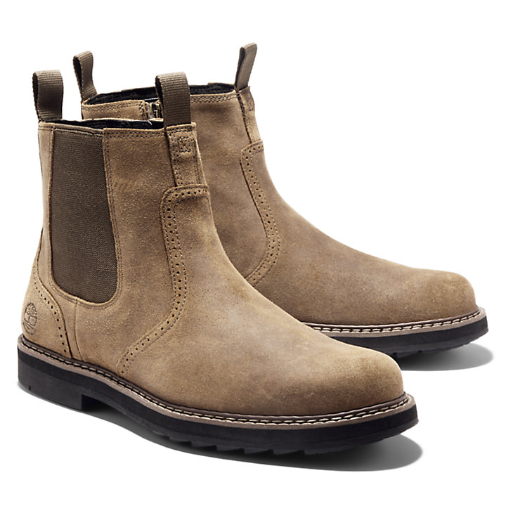 Squall Canyon Chelsea Boot for Men in Beige-