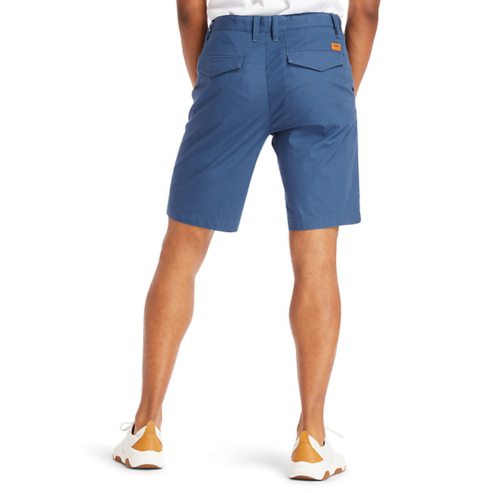 Squam Lake Chino Shorts for Men in Navy-