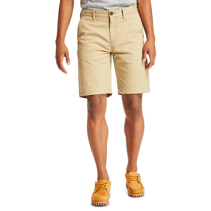 Squam Lake Chino Shorts for Men in Khaki-