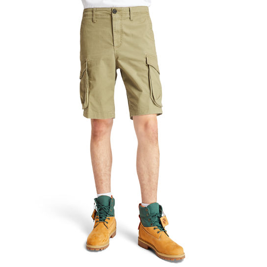 Tarleton Lake Stretch Cargo Short voor Heren in groen | Timberland