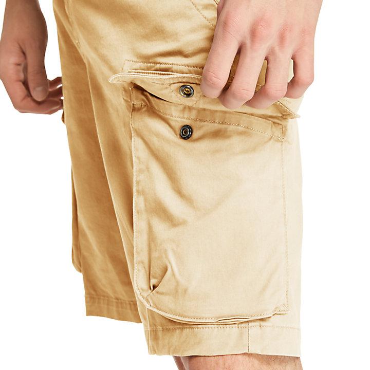 Pantalón Corto Cargo Elástico Tarleton Lake para Hombre en caqui-