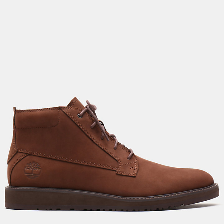 Wesley Falls Chukka for Men in Brown-