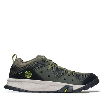 Garrison+Trail+Low+Hiking+Sneaker+for+Men+in+Dark+Green