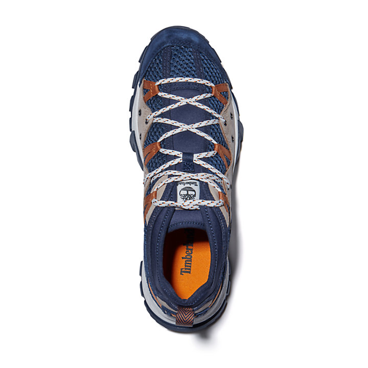 Garrison Trail Low Hiking Sneaker for Men in Navy-