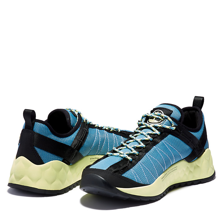 Solar Wave Mesh Sneaker for Men in Blue-