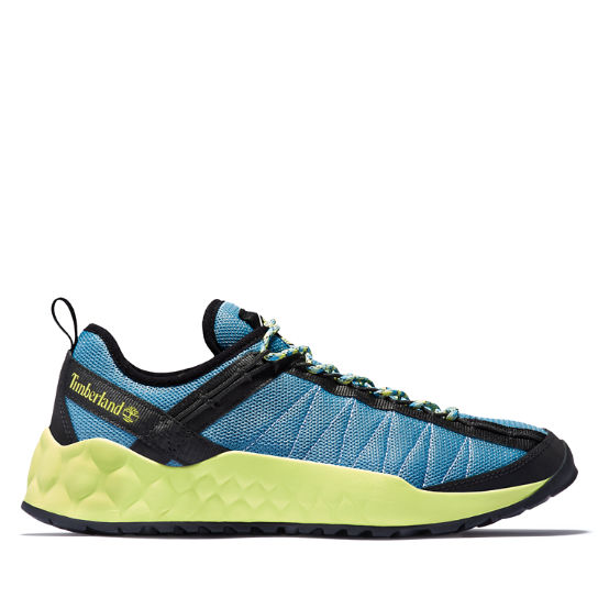 Solar Wave Mesh Sneaker for Men in Blue | Timberland