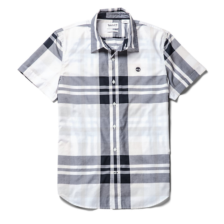 Eastham River Plaid Shirt for Men in Grey-