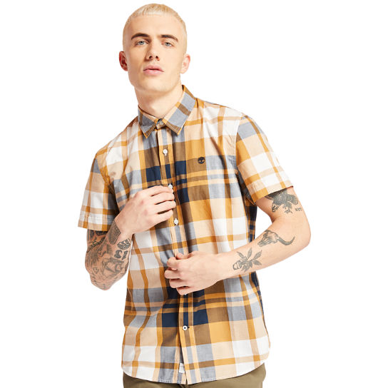 Eastham River Plaid Shirt for Men in Yellow | Timberland