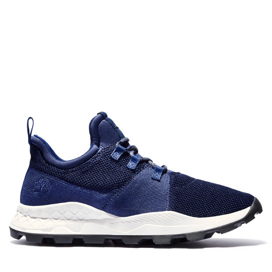 Brooklyn Flexi Knit Sneaker for Men in Navy | Timberland