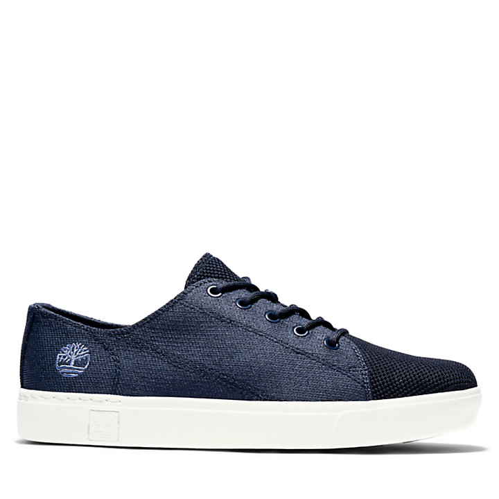 Amherst Knit Oxford for Men in Navy-