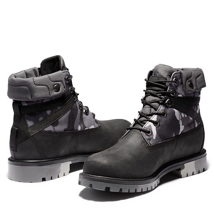 Heritage EK+ 6 Inch Boot for Men in Black-