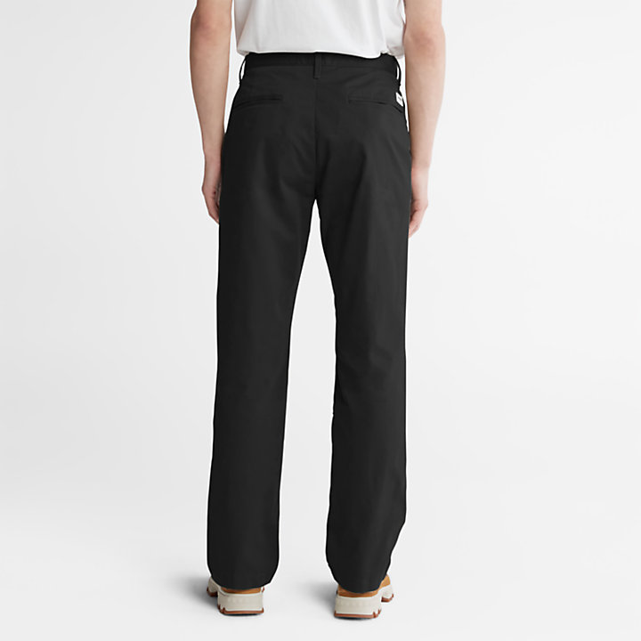 Squam Lake Twill Chino voor heren in zwart-