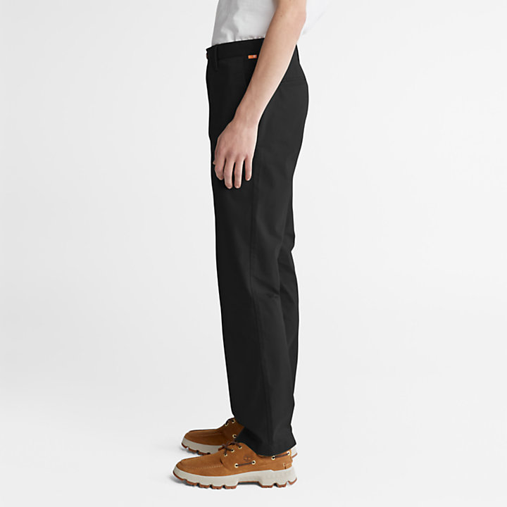 Squam Lake Twill Chinos for Men in Black-