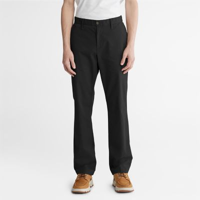 Squam+Lake+Twill+Chinohose+f%C3%BCr+Herren+in+Schwarz
