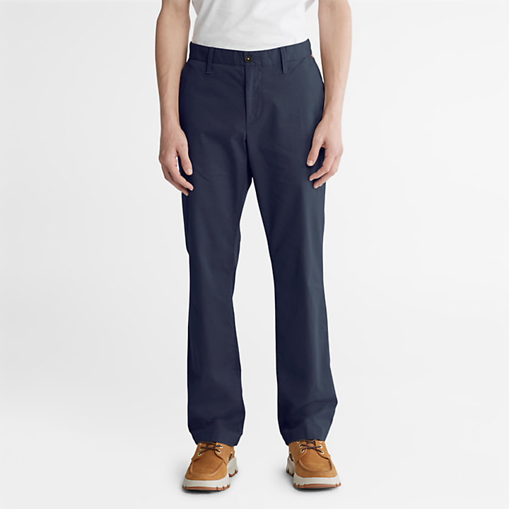 Squam Lake Twill Chinos for Men in Navy-